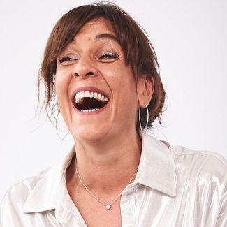 Shadi Halliwell laughing