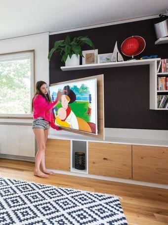 Fernsehpaneel - schwenkbar