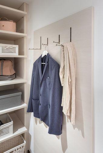 Garderobe-Paneel