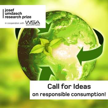 Call for ideas on responsible consumption!