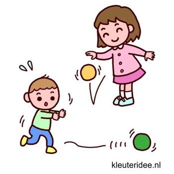Gymles met ballen voor kleuters 5, kleuteridee.nl