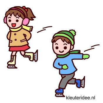 Gymles voor kleuters, thema winter, kleuteridee.nl