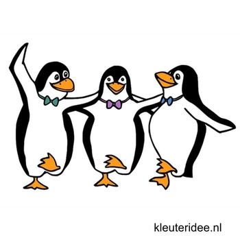 Gymles pinguïns thema Noordpool & Zuidpool voor kleuters, kleuteridee.nl