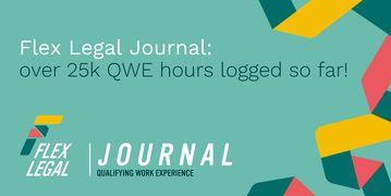 Flex Legal Journal SQE 25,000 hours