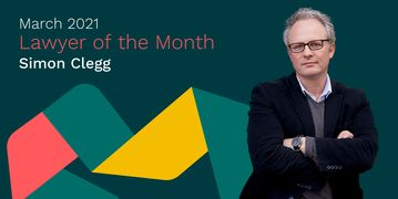 Simon Clegg Lawyer of the Month