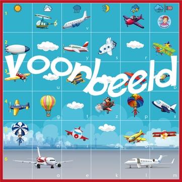 Bee-Bot mat vliegveld, kleuteridee, Bee-Bot airport mat