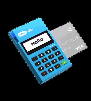 Yoco Go credit card machine