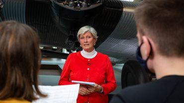 Aufnahmen beim Medienpreis Luft- und Raumfahrt im Deutschen Technikmuseum Berlin