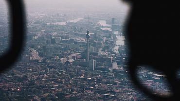 Hubschrauberflug über Berlin