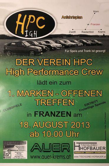 1.HPC Treffen 2013