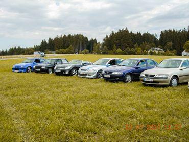 7. int. Treffen des Vereines Boehse Opelz in Grein 2007