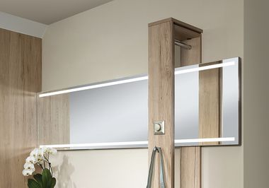 LED-Spiegel.