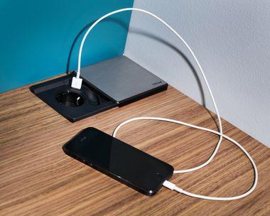 USB-Stecker.