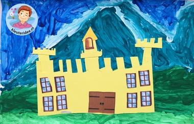 kasteel knippen en plakken, thema ridders, kleuteridee, knights theme kindergarten craft 5kasteel knippen en plakken, thema ridders, kleuteridee, knights theme kindergarten craft 5