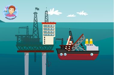 Spel voor kleuters op de computer, vind de vorm bij de schaduw, thema de haven met kleuters, kleuteridee.