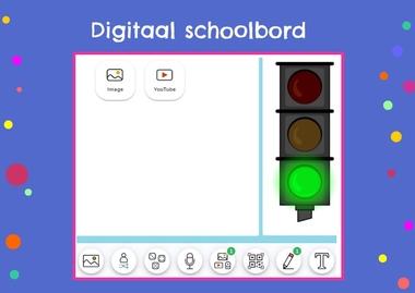 Digitaal schoolbord, kleuteridee
