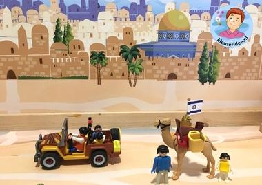 Thematafel Israel voor kleuters, kleuteridee, Kindergarten Israel theme 3.