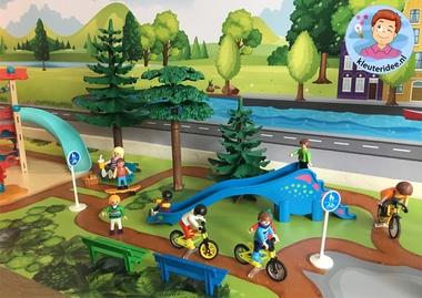 Thematafel de fiets, kleuteridee 4