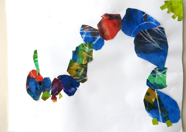 Eric Carle kunst, thema kunst voor kleuters, kleuteridee.nl , Art theme preschool.4