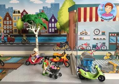 Thematafel de fiets, kleuteridee 3