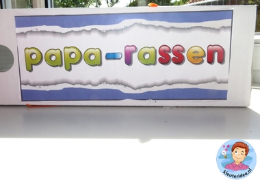 Tijdschriftcassette voor vader 3, kleuteridee.nl, vaderdag voor kleuters