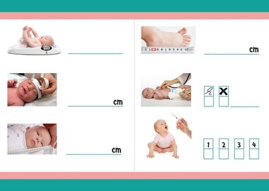 Zuigelingenbureau met rekenactiviteiten voor kleuters 8, thema baby's, kleuteridee.nl, met gratis groeiboekje download
