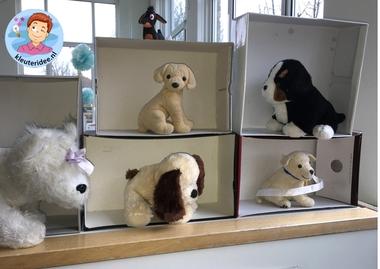 hondenasiel en onderzoekscenrum, thema de hond, Kindergarten dog roleplay, kleuteridee.nl 3