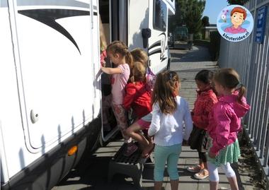 Camper ontdekken met kleuters, thema camping,kleuteridee.nl, preschool camping theme