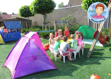 Afsluiting project camping met kleuters 2, kleuteridee.nl.Afsluiting project camping met kleuters 2, kleuteridee.nl.