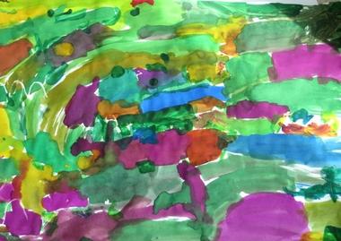 Eric Carle kunst, thema kunst voor kleuters, kleuteridee.nl , Art theme preschool.1