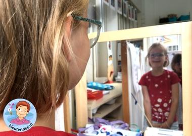 Themahoek opticien voor kleuters, kleuteridee,thema het oog, kindegarten optician role play, eye theme 10.