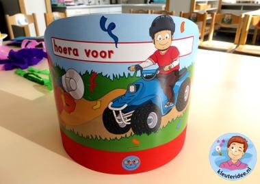 Feestmutsen voor kleuters 4, kleuteridee.nl.
