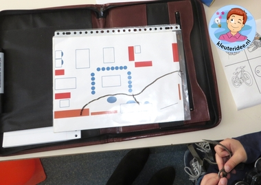 Rollenspel met kleuters, thema politie, hoek voor speurhonden 5, kleuteridee.nl, Kindergarten , Police theme