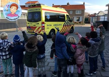 ambulance op school 2, kleuteridee
