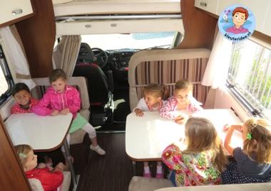 Camper ontdekken met kleuters 2, thema camping,kleuteridee.nl, preschool camping theme