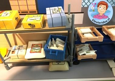 Thematafel 'Post & Pakket', kleuteridee 4