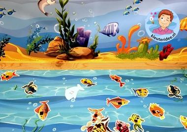 Speeltafel onder water voor kleuters, thema water, kleuteridee 6