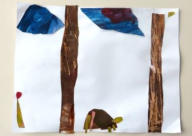 Eric Carle kunst, thema kunst voor kleuters, kleuteridee.nl , Art theme preschool.5