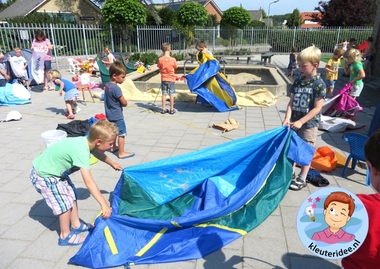 Afsluiting project camping met kleuters 3, kleuteridee.nl.