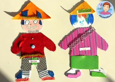 Chinezen knutselen met kleuters 2, thema China, kleuteridee
