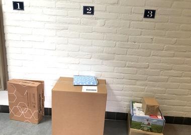 Pakketdienst, rollenspel voor kleuters, kleuteridee