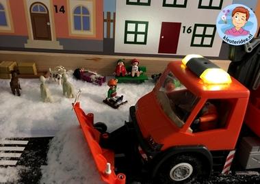 Thematafel sneeuw winter voor kleuters, kleuteridee 5