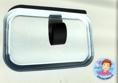Reflector knutselen met kleuters thema de fiets, kleuteridee 3