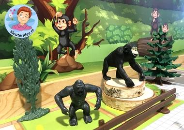Speelmatten dierentuin, kleuteridee 7.