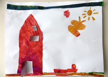 Eric Carle kunst, thema kunst voor kleuters, kleuteridee.nl , Art theme preschool.3