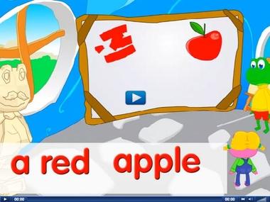 Engels leren aan kleuters met het digibord , kleuteridee.nl . What color is it
