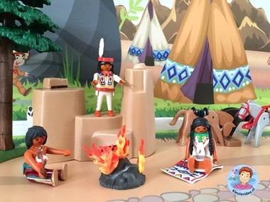 speelmatten indianen kleuteridee 5 k