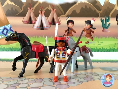 speelmatten indianen kleuteridee 9