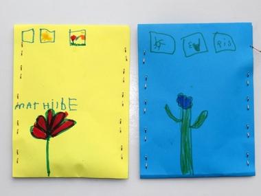 Zakjes zaad maken 2, thema tuincentrum, kleuteridee , free printable