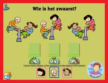 Wegen met kleuters op digibord of computer op kleuteridee.nl